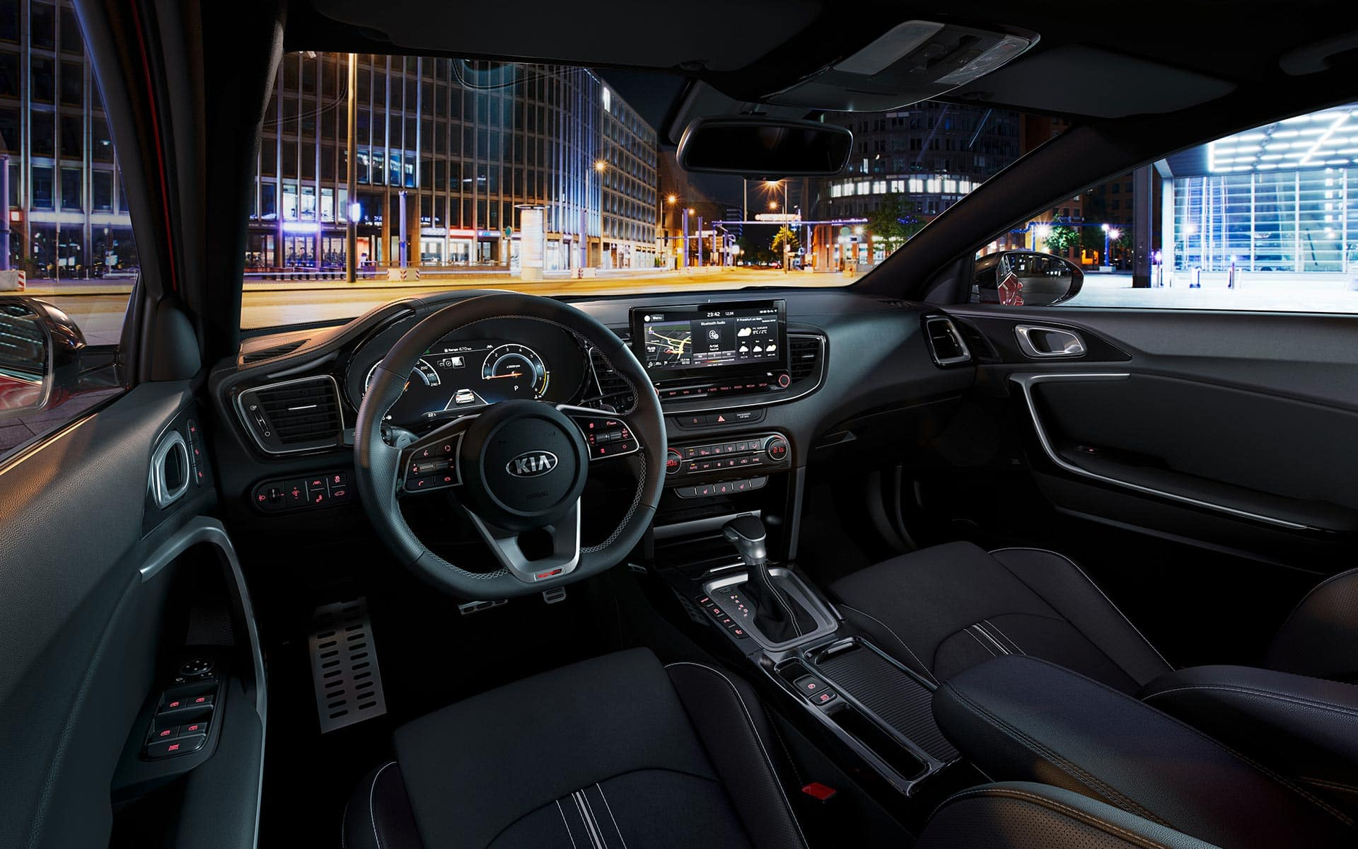 Kia ProCeed – Comfortabel interieur