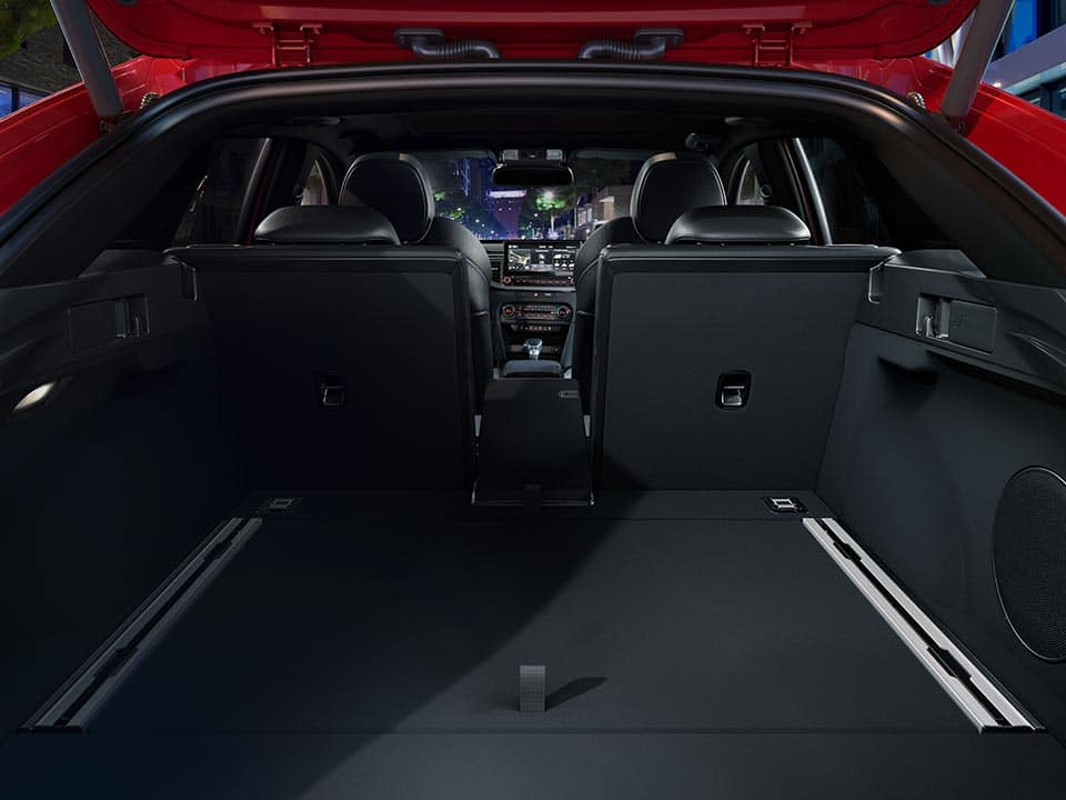 Kia ProCeed large cargo area