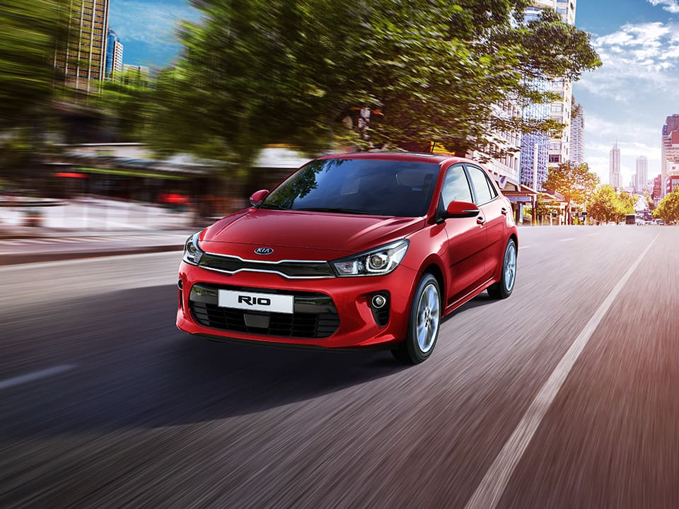Kia Rio dynamic performance
