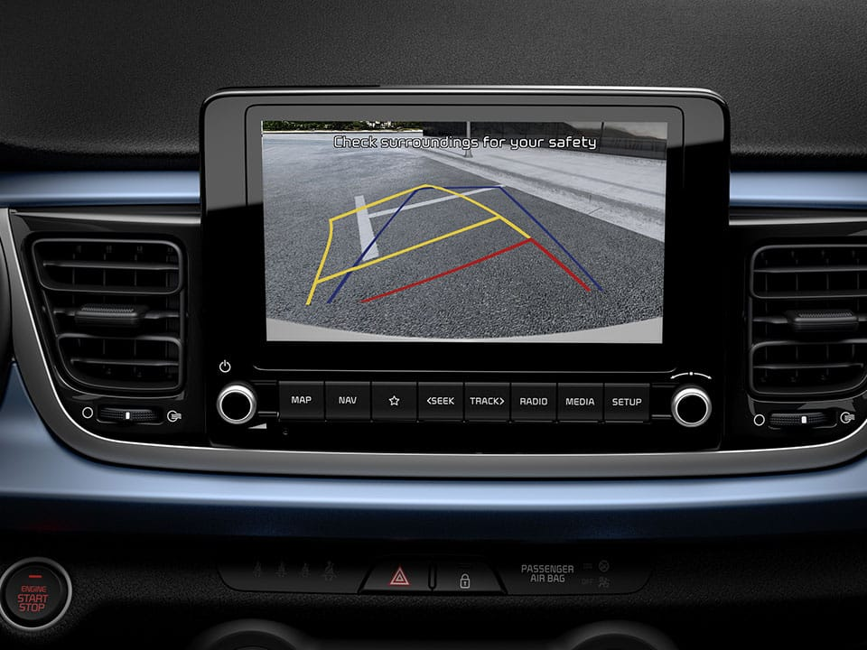 Kia Rio Rear View Monitor