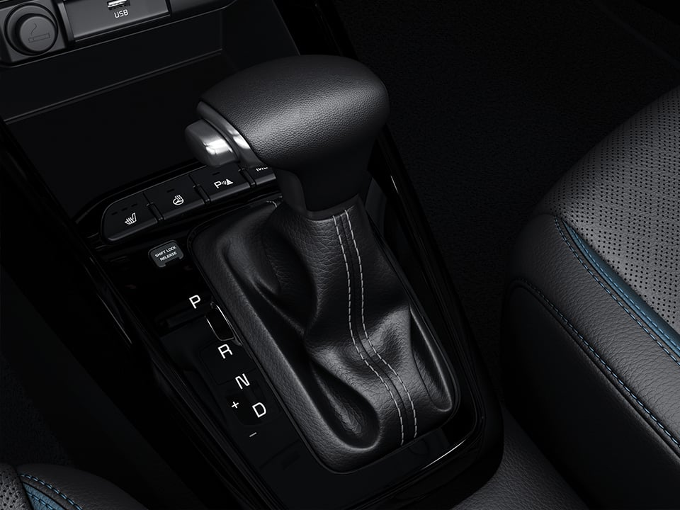 Dynamic driving just got greener.  The new Kia Rio 7-speed dual clutch transmission
