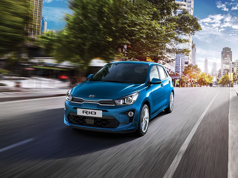 The new Kia Rio dynamic performance