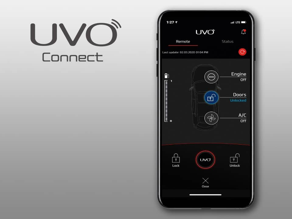Application UVO Connect