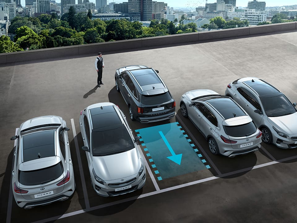 Kia Sorento Smart Parking Assist System