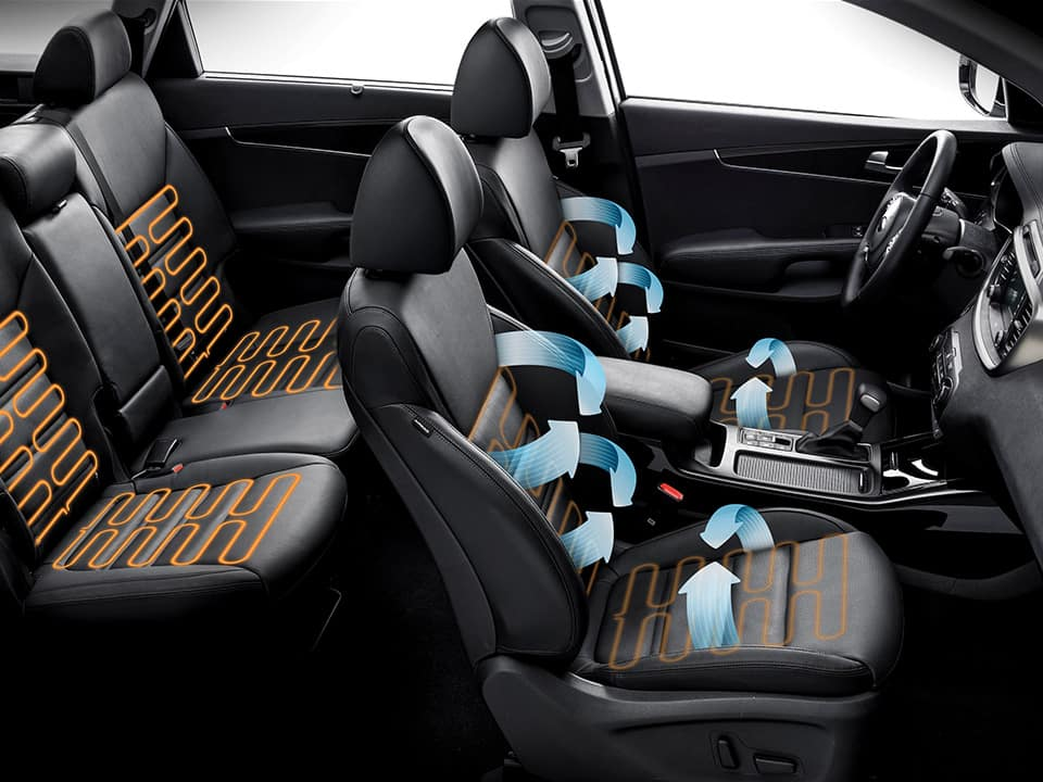 Kia Sorento - perfect zitcomfort