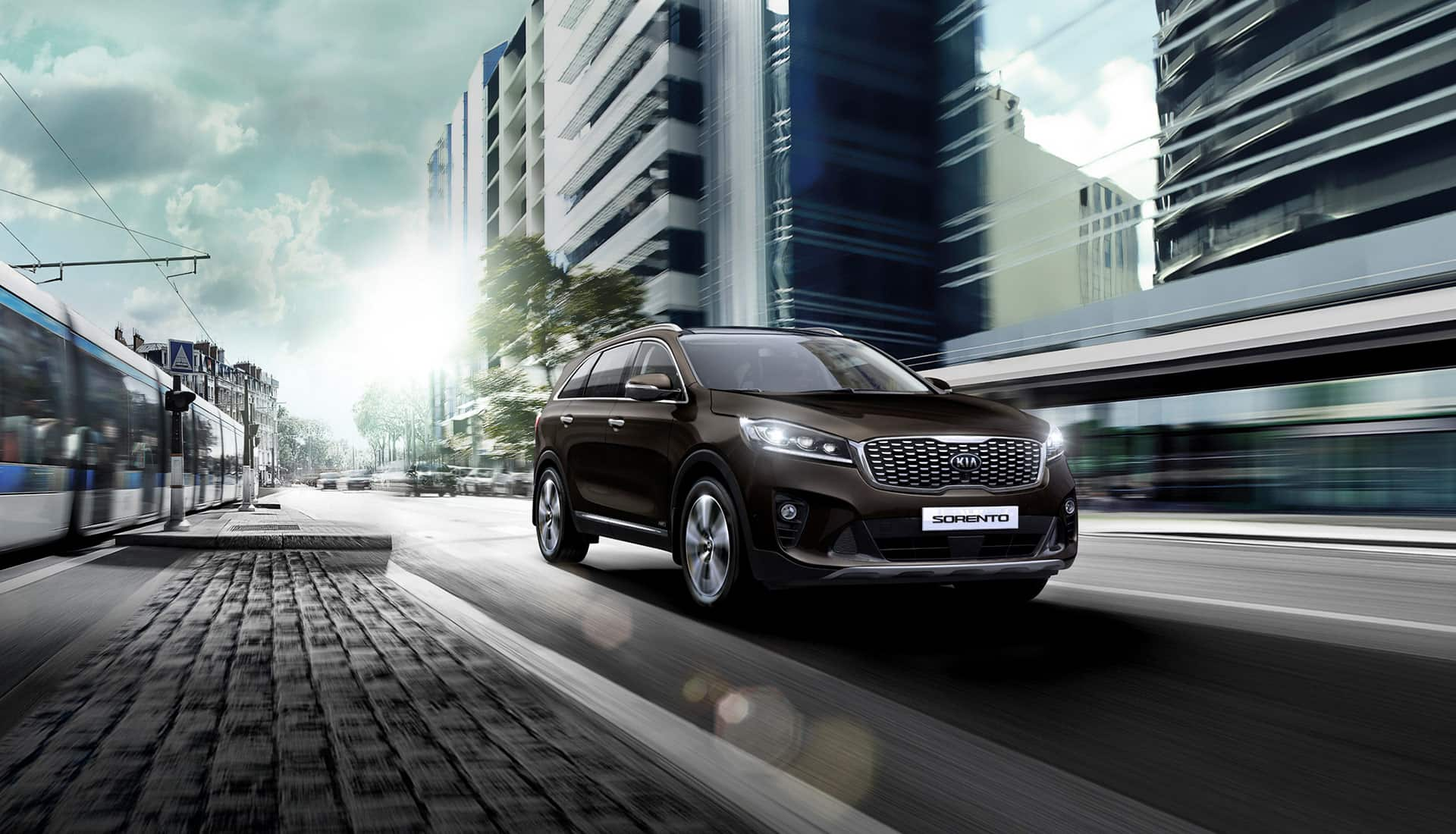 Kia Sorento outdoor