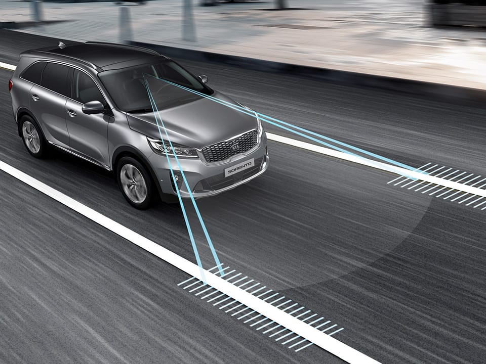Kia Sorento lane keeping assist