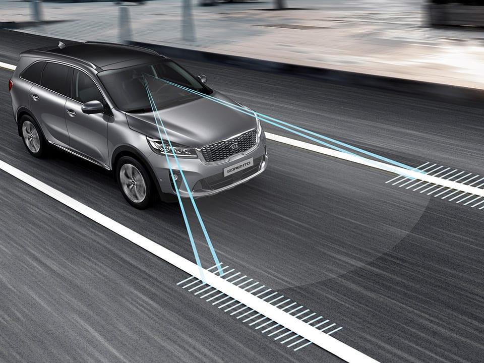 Kia Sorento – Lane Keeping Assist