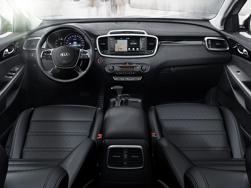 Kia Sorento sleek interior
