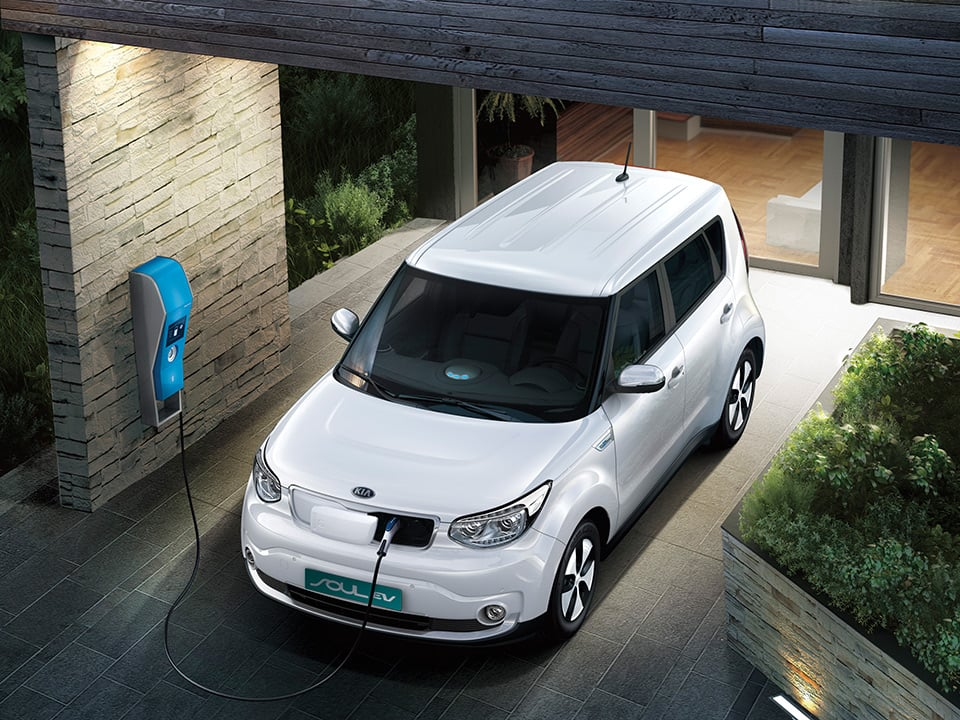 Kia Soul Electric lading