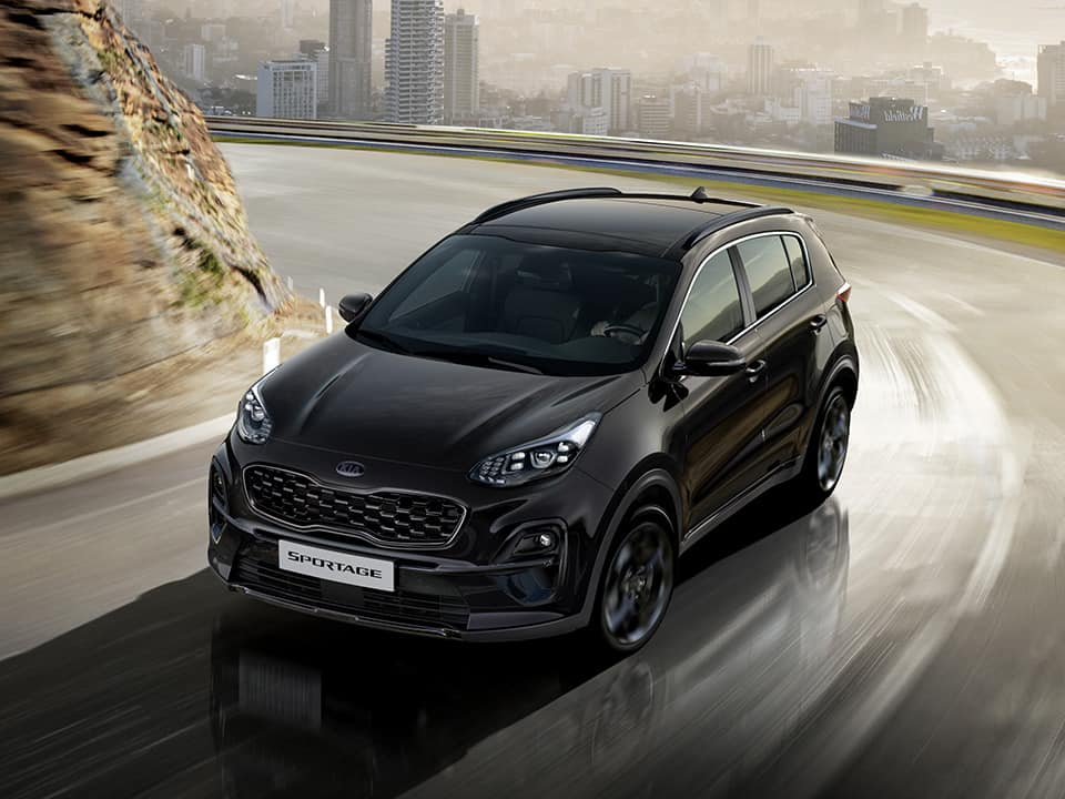 Kia Sportage Black Edition - Een statement in black