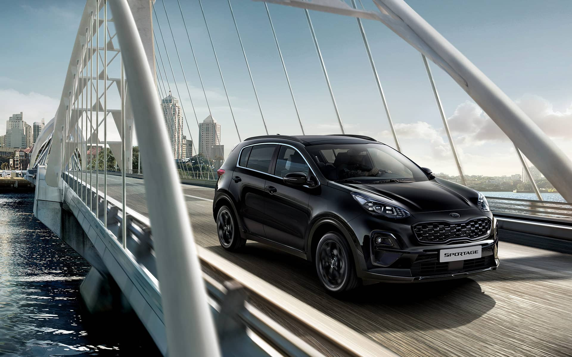 Kia Sportage Black Edition design