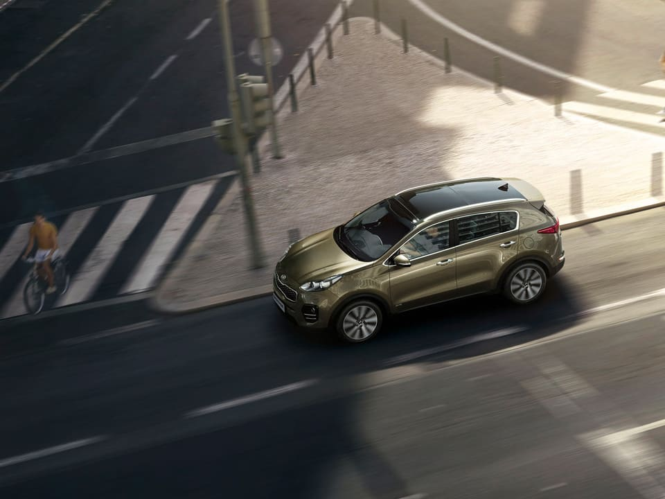 Kia Sportage passive safety