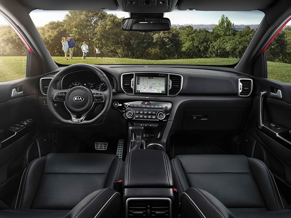 The kia sportage kia motors ireland for Interior kia sportage