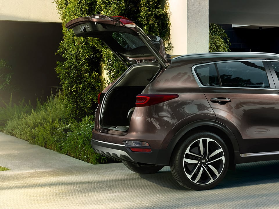 Kia Sportage smart power tailgate
