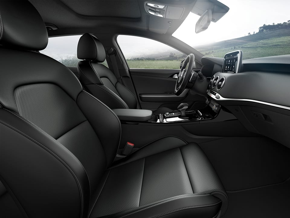 Kia Stinger seats
