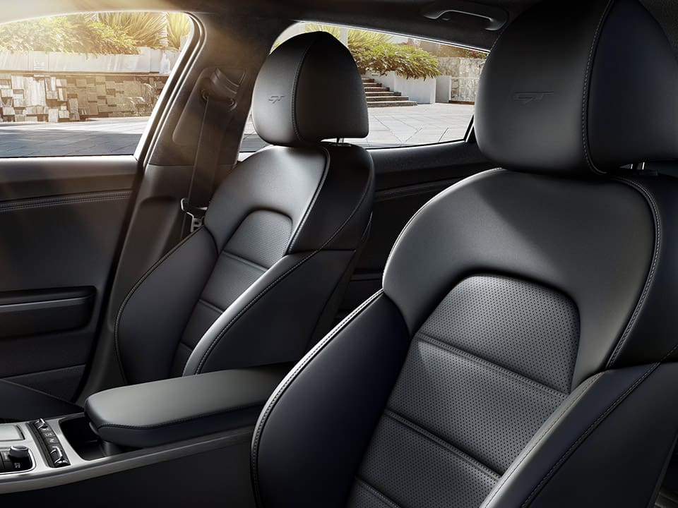 Kia Stinger GT nappa leather seats