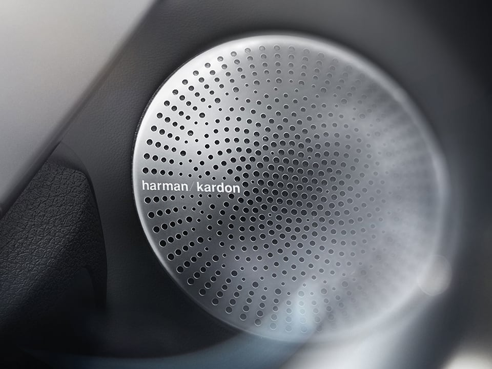 New Kia Stinger GT Harmon Kardon® Sound System