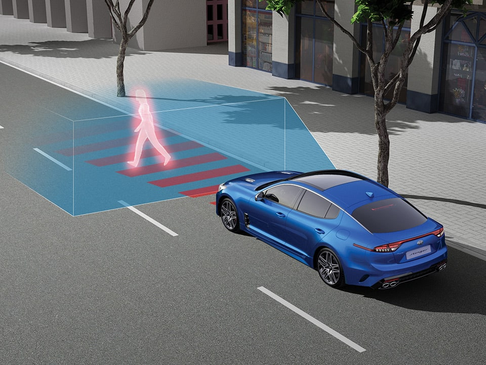 Forward Collision-Avoidance Assist (FCA) with Junction Turning