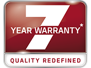 Kia's exclusive 7-year warranty