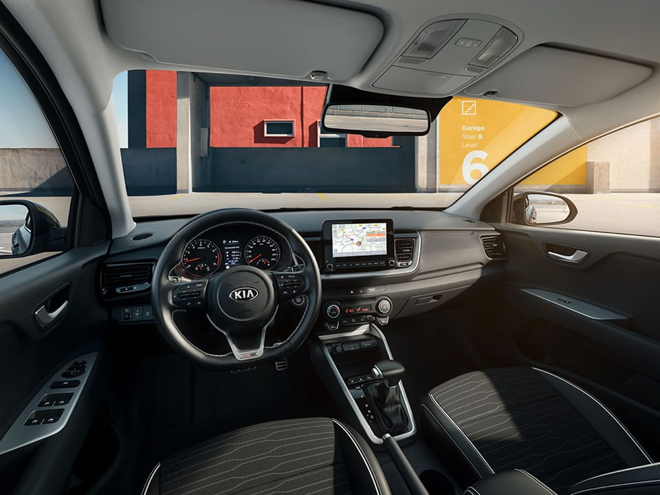 New Kia Stonic GT Line Sport-infused Cabin