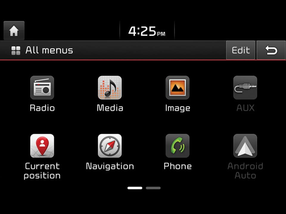 Fonctions Android Auto™ et Apple CarPlay™ disponibles sur le nouveau Kia Stonic