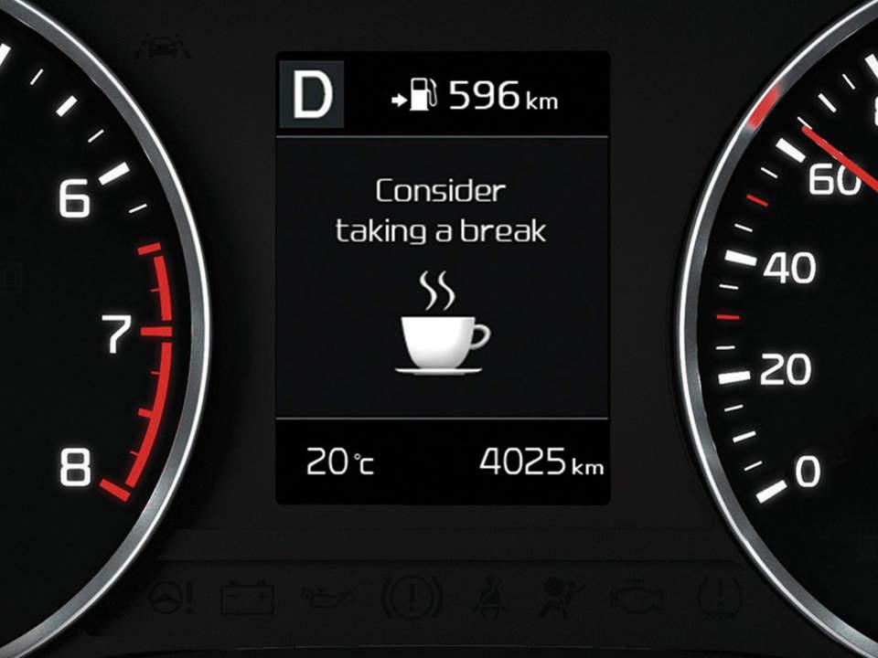 Kia Stonic - Σύστημα Ανίχνευσης Προσοχής του Οδηγού