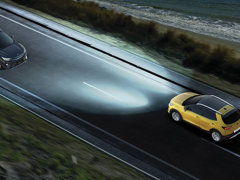 Kia Stonic high beam assist