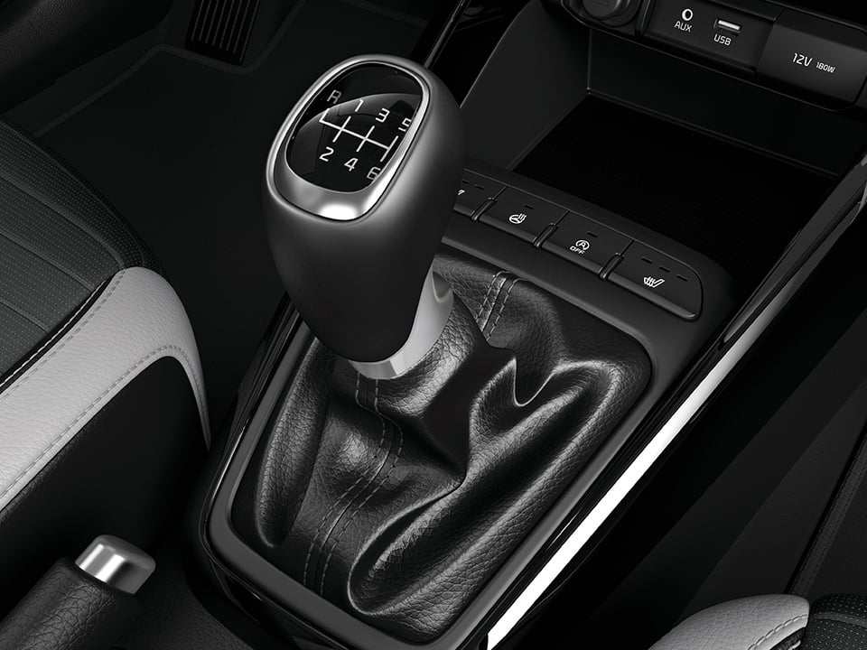 Kia Stonic manual transmission