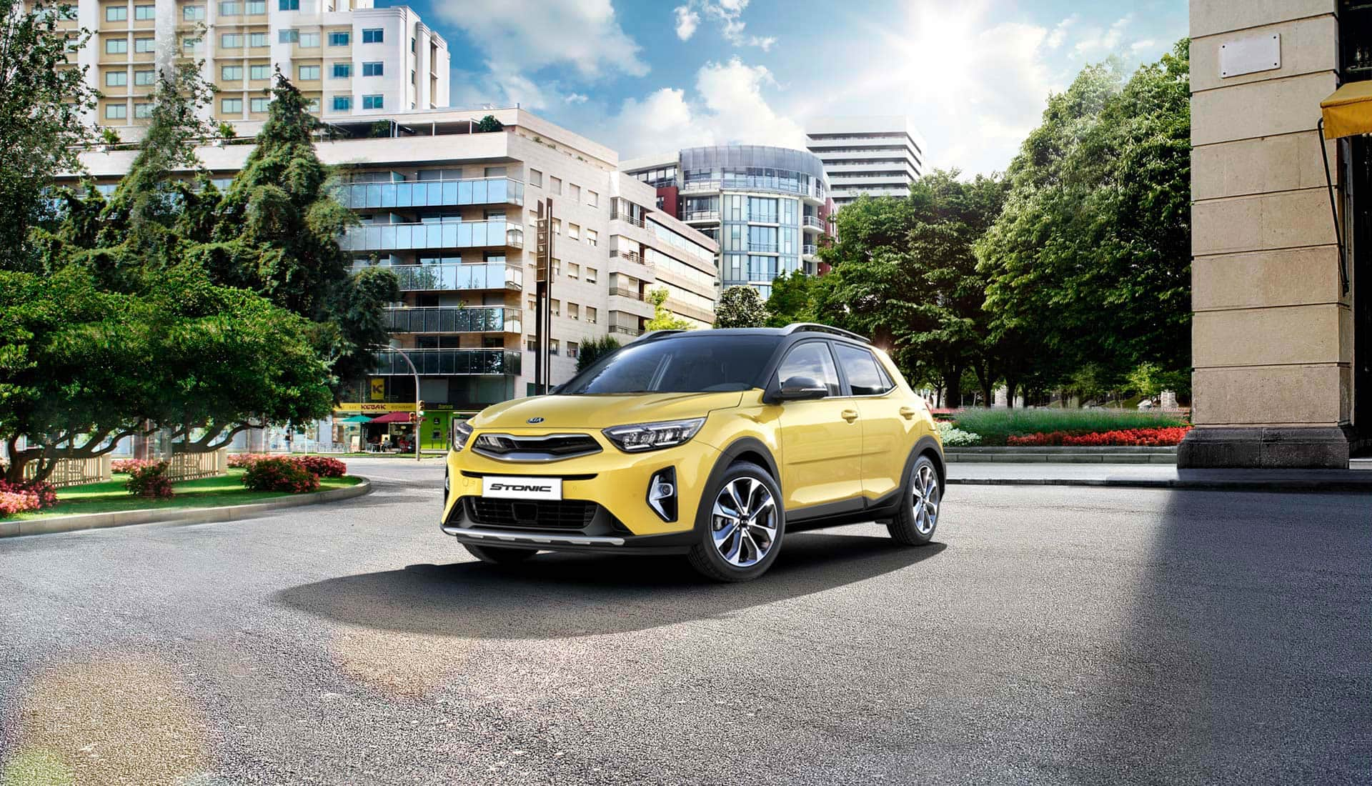 The new Kia Stonic exterior