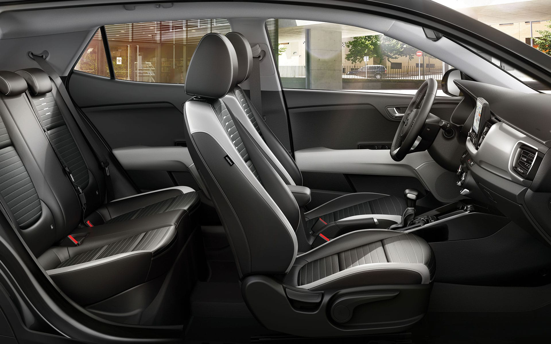 The new Kia Stonic interior