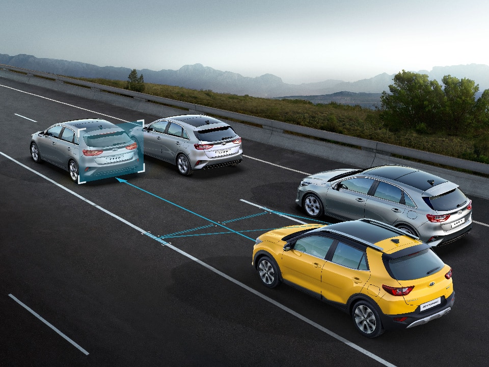 The new Kia Stonic Lane Keeping Assist & Lane Following Assist