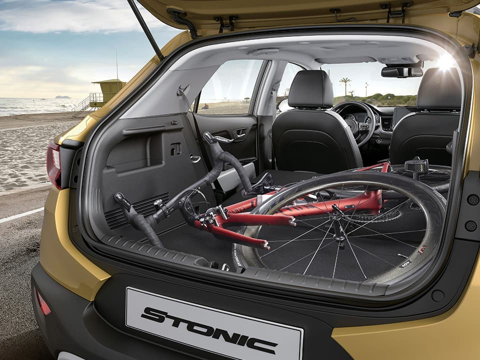 The new Kia Stonic spaciousness