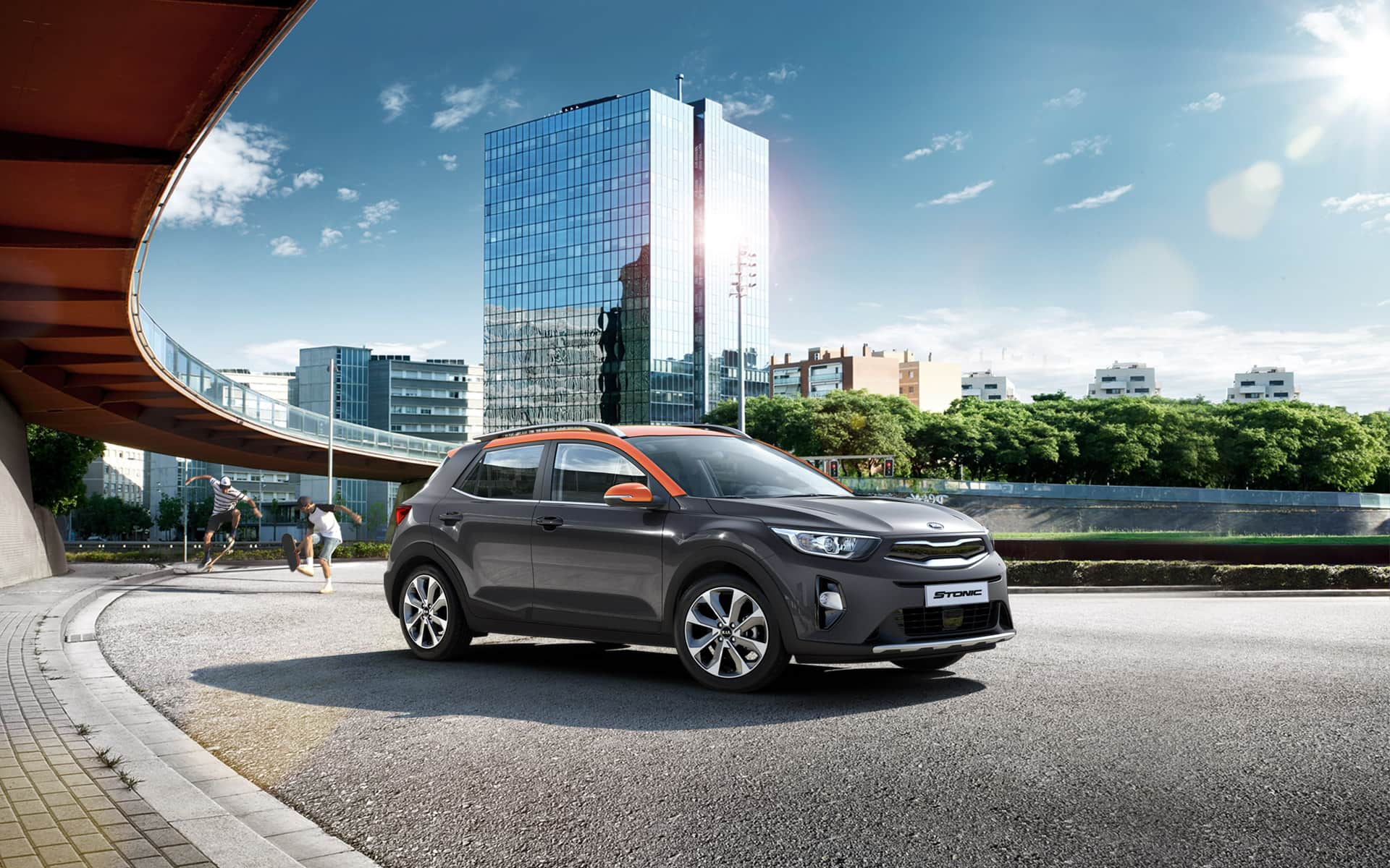 Kia Stonic sporty design