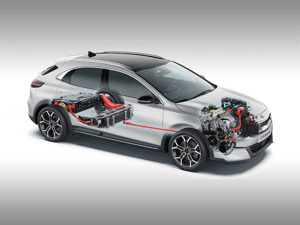 kia xceed plug-in hybrid technologie