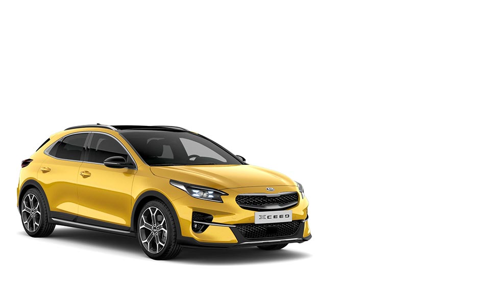 Kia XCeed Quantum Yellow