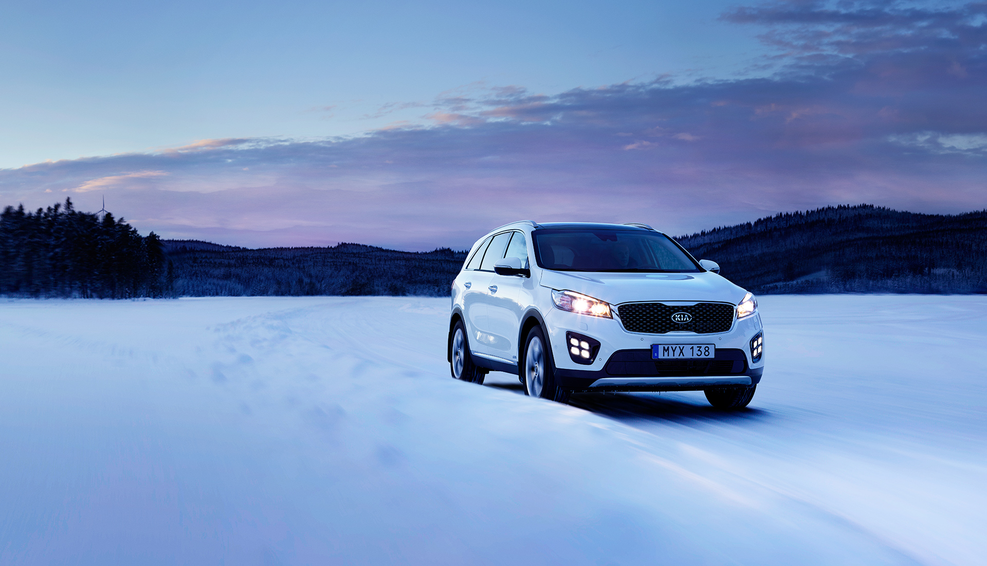 Kia Sorento Winter Edition
