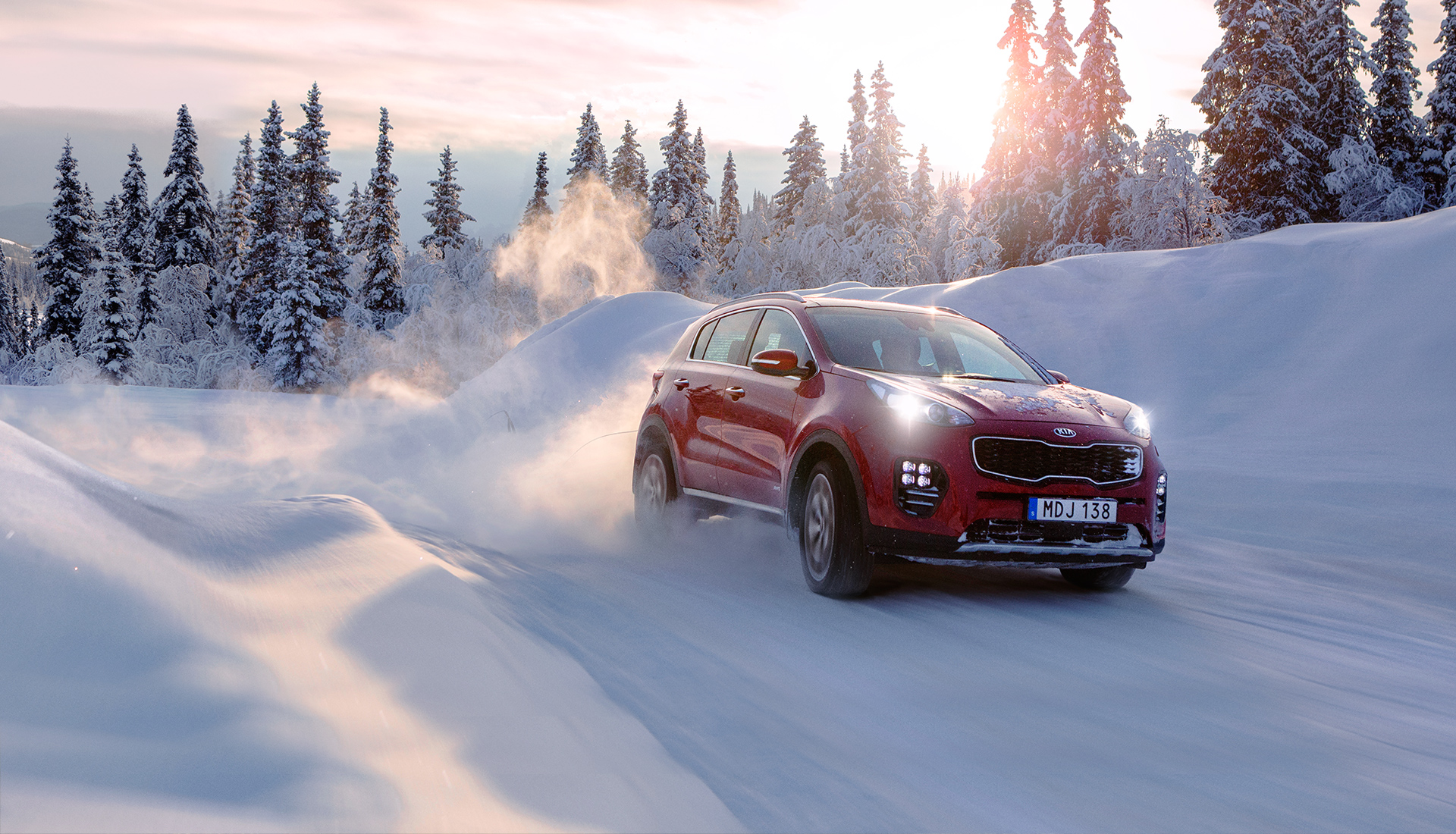 Kia Sportage Winter Edition