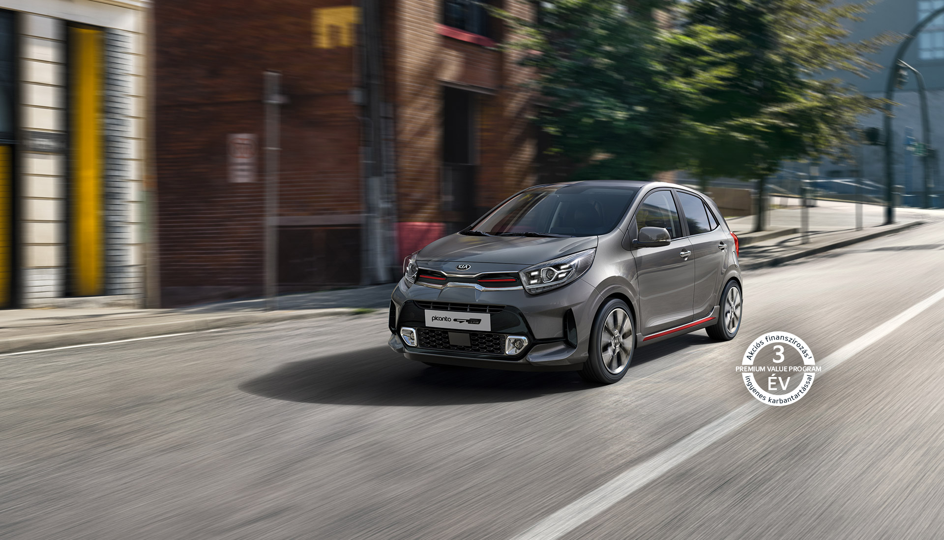 The new Kia Picanto GT Line exterior