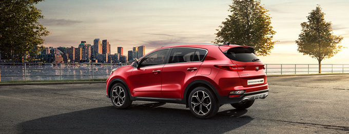 2020 Sportage with 0% Finance