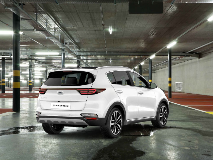 Sportage Commercial Rear