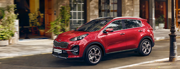 2020 Kia Sportage with  Diesel Mild Hybrid Technology