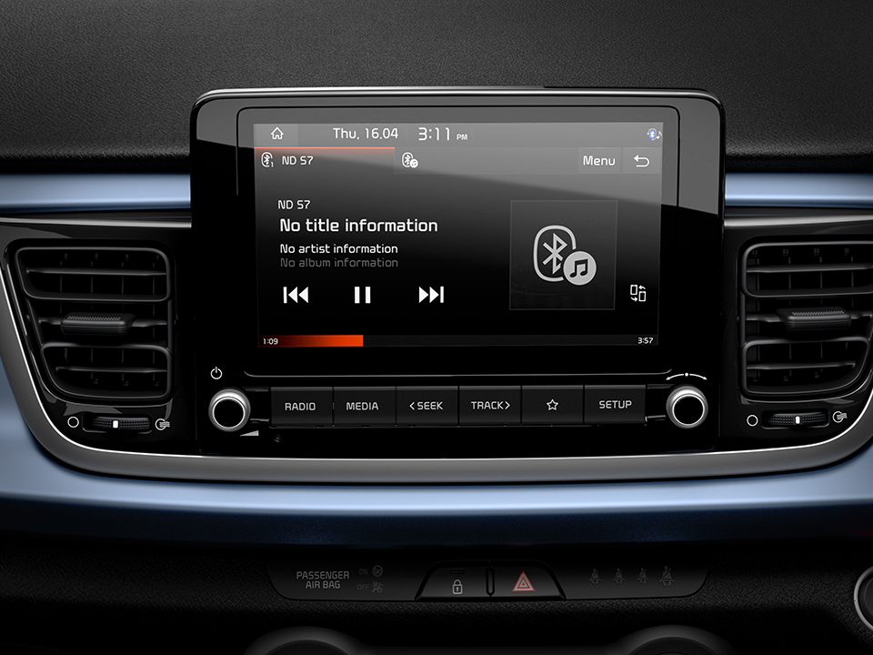 Touchscreen Infotainment