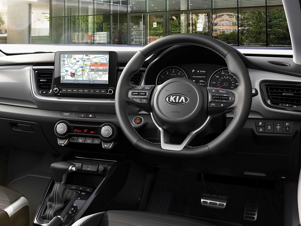 The new Kia Stonic exhilarating interior