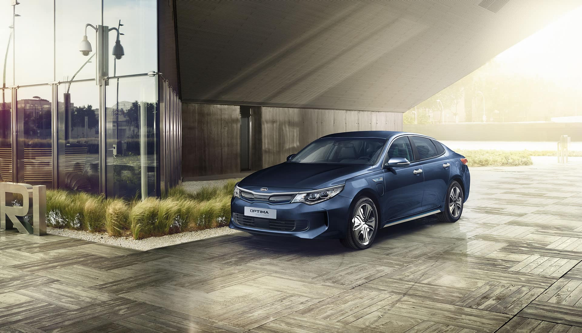 Nuova Kia Optima Plug-in Hybrid