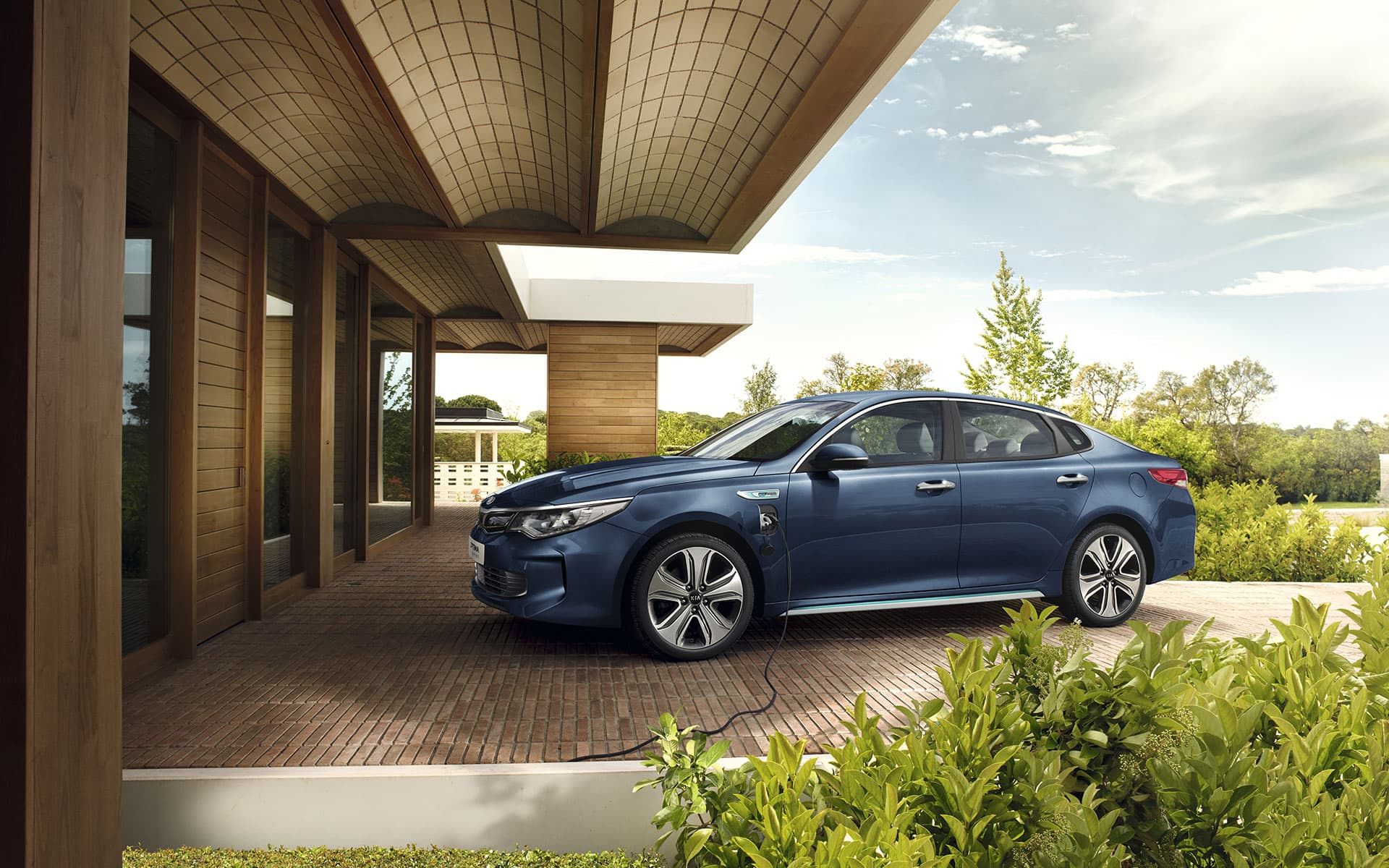 Kia Optima Plug-in Hybrid - design