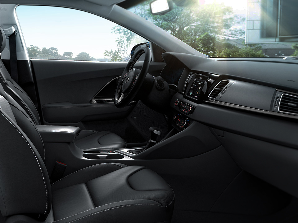 Kia Niro spacious interior