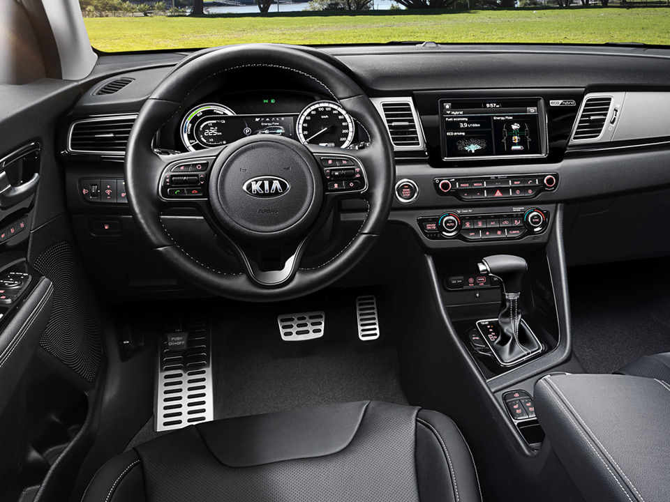 Kia Niro - dashboard