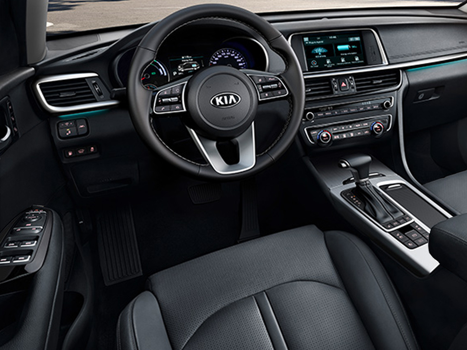 Kia Optima Sportswagon Plug-in Hybrid interieur