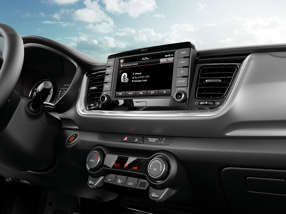 Kia Stonic exhilarating interior